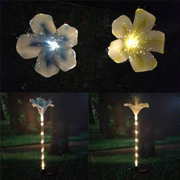 sợi quang hoa trang trí ánh sáng