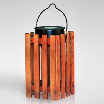 năng lượng mặt trời đèn lồng bằng gỗ ánh sáng